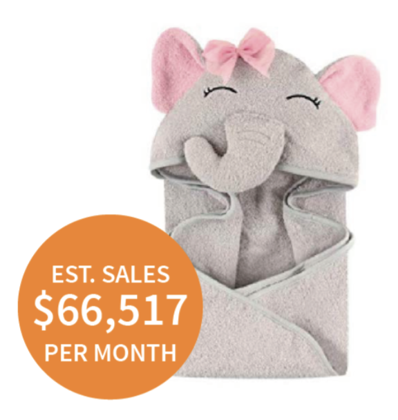 elephant (Amazon) Silly Elephant Makes $66,000 Per Month?